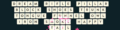 Dream Rifle Pillar Block Shoes Trunk Tongue Funnel Owl Iron Smoke Happy Tail