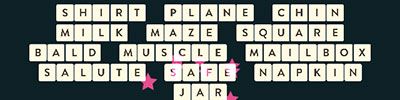 Shirt Plane Chin Milk Maze Square Bald Muscle Mailbox Salute Safe Napkin Jar