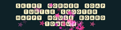 Skirt Corner Soap Turtle Scooter Happy House Board Tongue